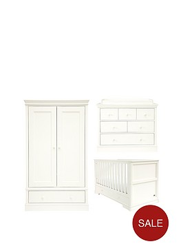 mamas-papas-oxford-cot-bed-dresser-amp-wardorbe-white-buy-and-save