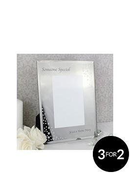 personalised-diamantenbspmirrored-photo-frame