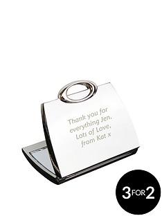 personalised-handbag-compact-mirror