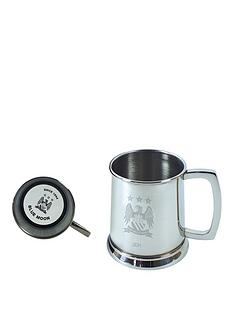manchester-city-manchester-city-personalised-stainless-steel-glass-base-tankard