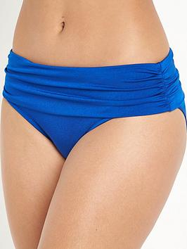 pour-moi-pour-moi-azure-fold-over-ruched-briefs