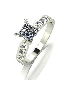 moissanite-9ct-gold-1-carat-square-brilliant-moissanite-solitaire-ring-with-moissanite-set-shoulders