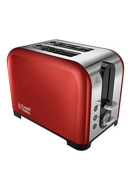 russell-hobbs-22391-canterbury-2-slice-toaster-red