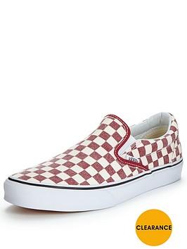 vans-classic-slip-on-50th-anniversary-checkerboard-mens-plimsolls