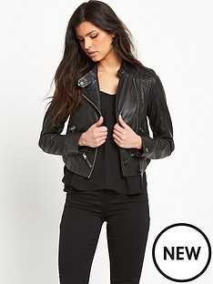hilfiger-denim-leather-biker-jacket