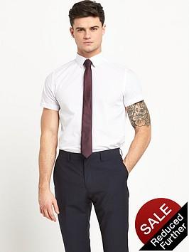 v-by-very-short-sleeve-slim-mens-shirt