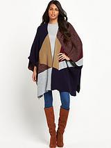 Patchwork Blanket Wrap