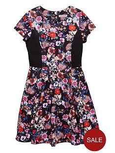 freespirit-girls-floral-skater-dress