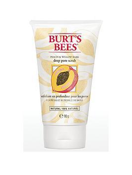burts-bees-deep-pore-scrub-peach-amp-willow-bark-110gnbsp