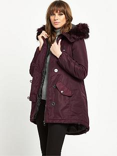 lipsy-faux-fur-trim-parka