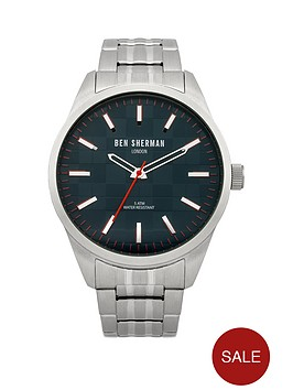 ben-sherman-stainless-steel-bracelet-mens-watch
