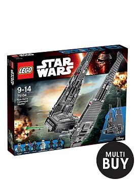lego-star-wars-kylo-renrsquos-command-shuttletradenbsp75104-amp-free-lego-city-brickmaster