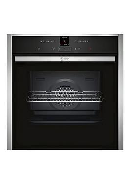 neff-b17cr32n1bnbspbuilt-in-single-oven-stainless-steel