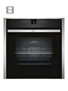 neff-b27cr22n1bnbspbuilt-in-electricnbspsingle-oven-with-circothermreg-stainless-steelnbsp