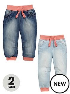 ladybird-girls-cuffed-jeans-2-pack