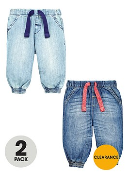 ladybird-baby-boys-cuffed-jeans-2-pack