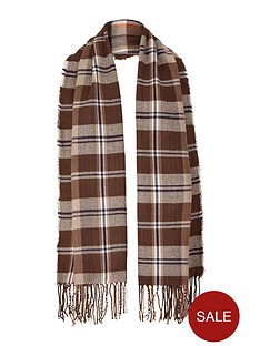 mens-checked-midweight-scarf