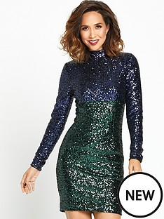 myleene-klass-high-neck-sequin-dress