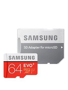 samsung-64gb-evo-plus-micro-sd-xc-memory-card-with-sd-adapter