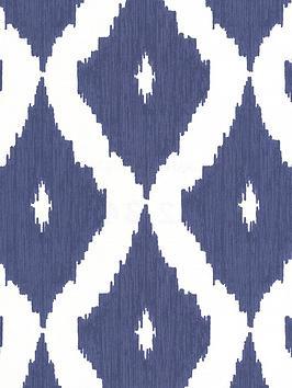 kelly-hoppen-kelly-hoppen-kellys-ikatnbspwallpaper-white-and-blue