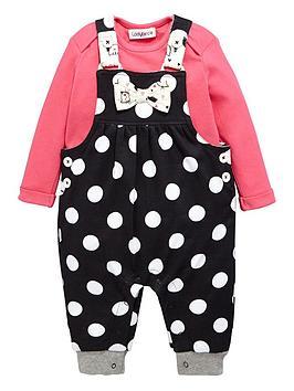 ladybird-baby-girls-polka-dot-jersey-dungaree-and-t-shirt-set-2-piece
