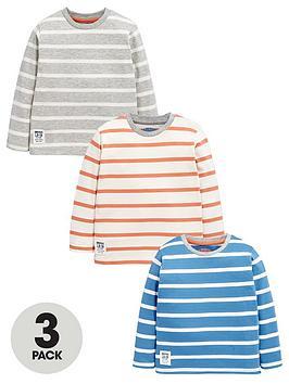 ladybird-boys-long-sleeve-stripe-t-shirts-3-pack