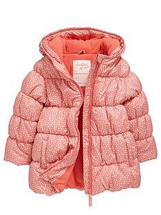 ladybird-girls-star-print-wadded-and-fleece-lined-coat