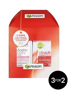 garnier-garnier-mini-micellar-125-ml-and-ultralift-day-gift-set