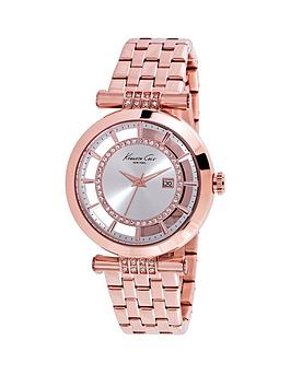 kenneth-cole-kenneth-cole-transparent-dial-with-crystals-rose-gold-ion-plate-case-and-bracelet-ladies-watch