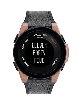 kenneth-cole-kenneth-cole-connect-digital-rose-gold-case-black-silicone-strap-with-leather-inserts-unisex-watch