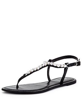 v-by-very-carlisenbsppearl-trim-toepost-flat-sandal
