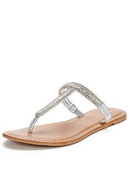 v-by-very-millynbspjewel-t-bar-toe-post-flat-sandal