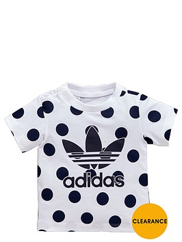 adidas-originals-baby-girls-denim-effect-spot-trefoil-t-shirt