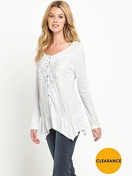joe-browns-lace-appliqueacutenbspcrinkle-blouse