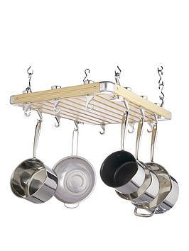 master-class-kitchen-craft-masterclass-hanging-pot-rack