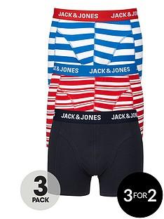 jack-jones-plainstripednbsptrunks-3-pack