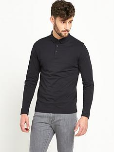 v-by-very-long-sleeve-jersey-mens-polo-shirt