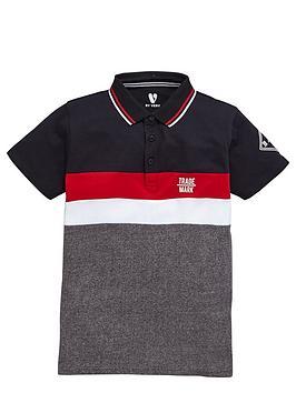 v-by-very-boys-colour-block-sporty-polo-shirt