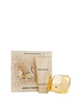 paco-rabanne-paconbsplady-million-80mlnbspedpnbspand-body-lotion-100-ml-gift-set