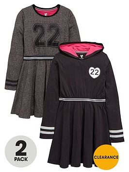v-by-very-girls-fashion-basics-sporty-dresses-2-pack