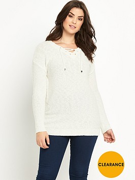 so-fabulous-eyelet-lace-up-tunic-jumper