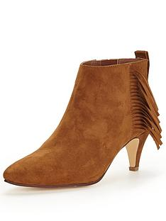 shoe-box-seamorenbsplow-heel-point-faux-suede-shoe-bootsnbsp