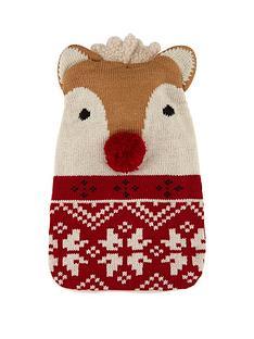 hot-water-bottle-and-reindeer-cosy