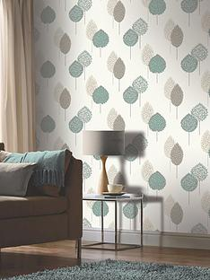 arthouse-dante-motif-teal-wallpaper