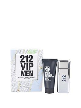 carolina-herrera-212-vip-men-100ml-edt-and-100ml-shower-gel-gift-set
