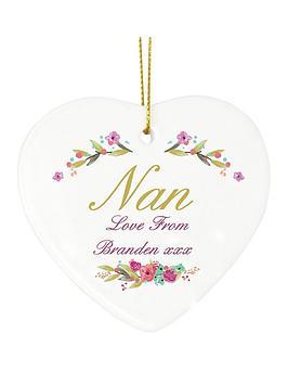personalised-nan-hanging-heart