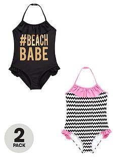 v-by-very-girls-foil-print-and-stripe-swimsuits-2-pack