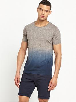 v-by-very-crew-neck-short-sleeve-dip-dye-t-shirt