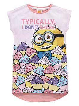 minions-girls-longline-nightie