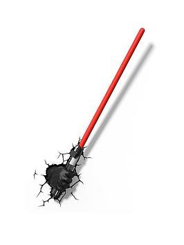 star-wars-red-lightsaber-3d-wall-light